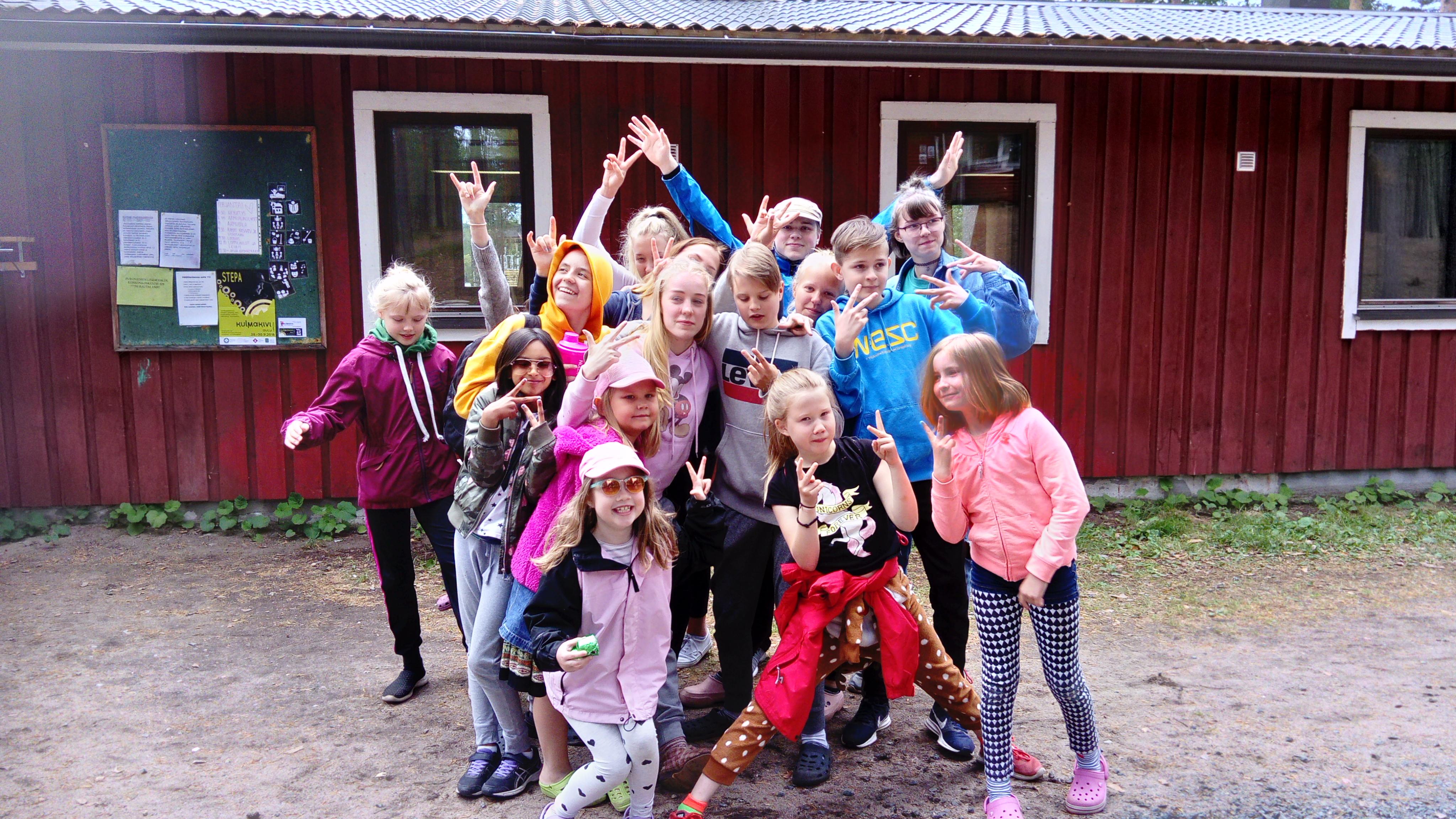 Lasten ja varhaisnuorten leiri 4.-7.6.2019